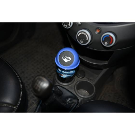 Awstro Novelty Car Home Office Mini Trash / Garbage / Dust Bin / Car Accessory (Blue)