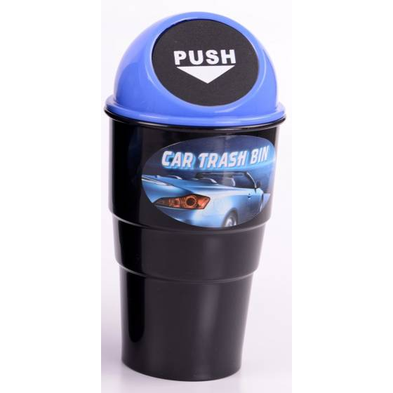 Awstro Novelty Car Home Office Mini Trash / Garbage / Dust Bin / Car Accessory (Blue)
