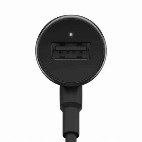 Motorola CHR0548 Turbo Power 25W Quick Charge Car Charger (Black)