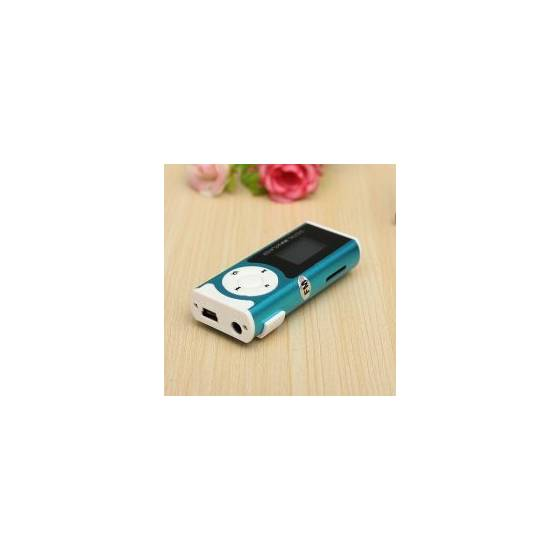MP3 Player With LCD Display Inbuilt Speaker & LED Torch