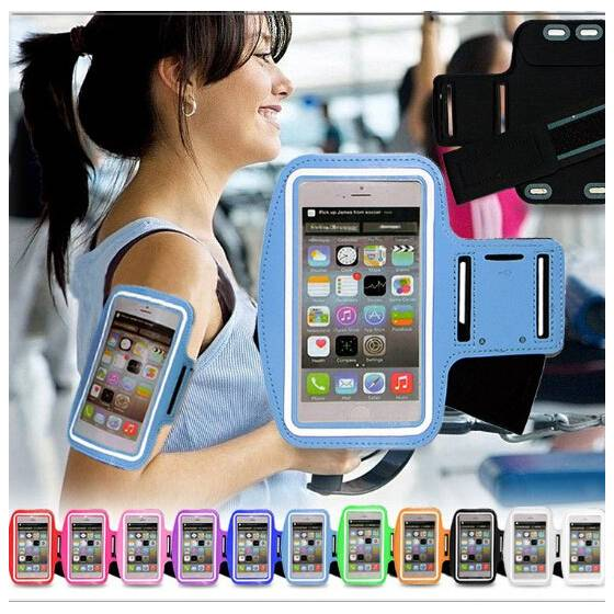 Sports Running And Jogging Gym Exercise Running Armband Case Cover Holder