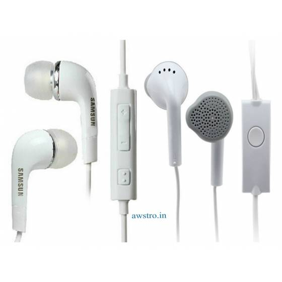 Samsung EHS64AVFWE Headset with Remote and Mic (White)